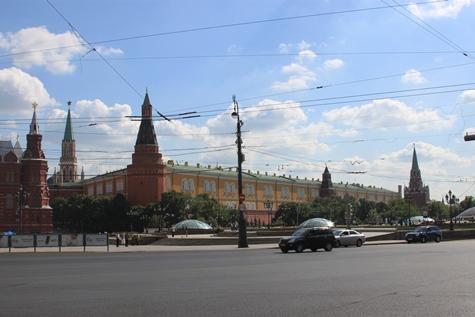 Москва. Манежная площадь.